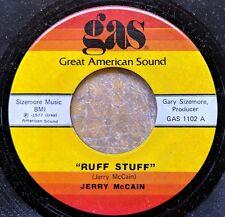 ALABAMA BLUES HARMONICA 45: JERRY McCAIN Ruff Stuff/What About You GAS 1102