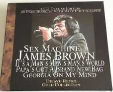 JAMES BROWN THE GOLD COLLECTION COFANETTO 2 CD DELUXE EDITION + BOOKLET!!!