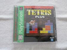 Tetris Plus Sony Playstation Play Station Complete Tested Works Puzzle PSOne