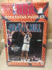 """New Sealed NBA Superstar Puzzle Grant Hill 400 Pieces 16"""" X 20"""""""