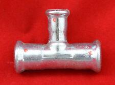 10x T-Stück wie Geberit Mapress 21203 reduziert Ø 18x12x18mm Pressfitting Neu
