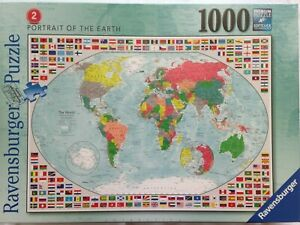 Brand New Ravensburger 1000 Piece Jigsaw Puzzle - PORTRAIT OF THE EARTH 2