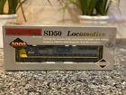 SD50 HO SCALE LOCOMOTIVE PROTO 2000 SERIES LIMITED EDITION CSX #8543