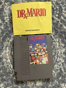 Dr. Mario (Nintendo Entertainment System, 1990) & Manual Tested And Clean !!