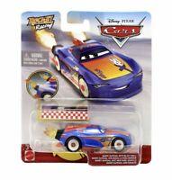 BARRY DEPEDAL WITH BLAST WALL disney pixar cars 2 3 NEW rocket racing racers
