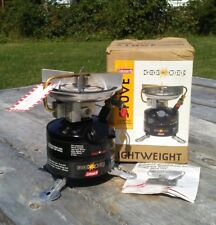 VINTAGE Coleman Mountaineer Series Backpack Camp Stove Near Mint in Box 3 1998