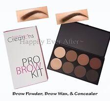 Eyebrow Kit -Beauty Creations Pro Brow Kit Brow Powder, Brow Wax, & Concealer