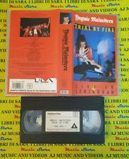 VHS YNGWIE MALMSTEEN Trial fire Live in leningrad 1989 PMV no cd mc dvd lp(VM4)