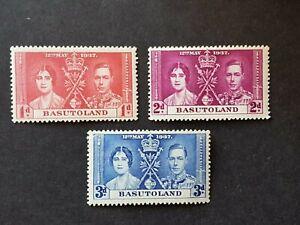 Omnibus - British Guiana - 1937 - Sc 227 - 29 - KGVI Coronation Issue MH