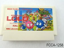 Adventures of Lolo II 2 Famicom Japanese Import FC Nintendo Japan US Seller A