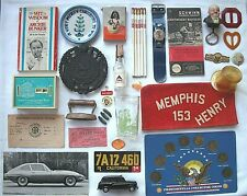 New listing Vintage Collectible Junk Drawer Lot of 30+ Miscellaneous Variety Advertising etc