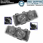 Headlights Headlamps Left Right Pair Set Of 2 For 92-99 Bmw E36 3 Series