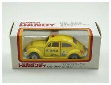 Vintage Tomica Dandy diecast model DE-006 Volkswagen Metro Police car MIB