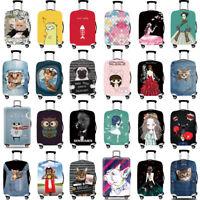 "Travel Elastic Luggage Cover Suitcase Trolley Dustproof Skin Protector 18""- 32"""