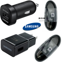 OEM Samsung Wall Car USB C Type C Fast Charger Charging Cable Cord Galaxy Note