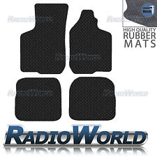 Audi A3 8L 1996 - 2002 Black Floor Rubber Fully Tailored Car Mats 3mm 4pc Set