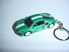 NEW 3D GREEN AUDI R8 CUSTOM KEYCHAIN keyring key AWD SPEED RACE BACKPACK BLING!