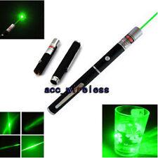 500Mile 532nm Laser Pointer Pen Green Light Visible Beam Lazer Speech