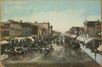 1910 Postcard - Broadway - Rochester, Minnesota MN Minn