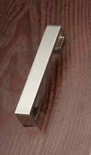 "Lot 25, 5"" modern Satin Nickel Kitchen Cabinet Door Drawer Handle Pull 19SN96"