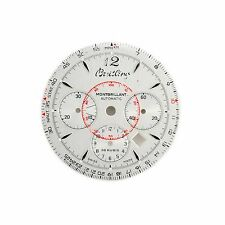 Dial for Breitling Montbrilliant Automatic 38 Rubis White Steel Racing