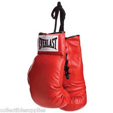 Everlast Red Lace Autograph Boxing Gloves