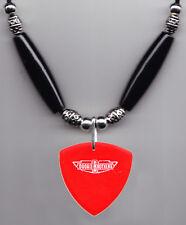 Doobie Brothers Skylark Signature Red Bass Guitar Pick Necklace - 2008 Tour