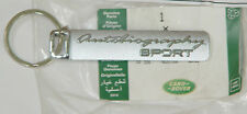 Range Rover Sport Chrome Plated Autobiography Keychain FEO Genuine Exclusive NEW
