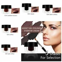 Imperméable Crème pour les Sourcils Gel + Pinceau  Maquillage Professionnel