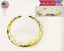 """Cadillac Gold Plated Wreath Small Emblem For Grill or trunk H: 4"""" W: 4.25"""""""