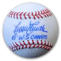 "Reggie Smith Signed Autographed MLB Baseball LA Dodgers ""81 WS Champs"" PSA/DNA"