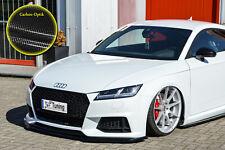 Frontspoiler Splitter aus ABS für Audi TT TTS 8S S-Line mit ABE in Carbon Optik