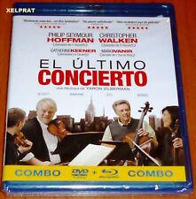 EL ULTIMO CONCIERTO / A LATE QUARTET -COMBO BLURAY + DVD- AREA 2/B Precintada