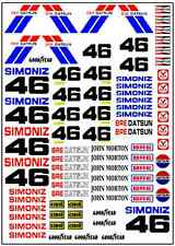 1/64, 1/87 - DECALS FOR HOT WHEELS, MATCHBOX, SLOT CAR: BRE