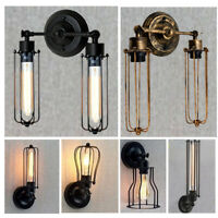 Vintage Modern Retro Industrial Wall Mounted Lights / Rustic Sconce Lamp Fixture