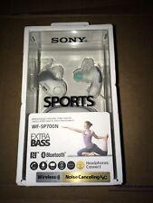 Sony SP700N Wireless Noise Canceling Sports In-Ear Headphones White WF-SP700N