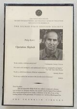 Operation Shylock by Philip Roth - Signed Limited Edition