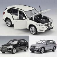 1:24 BMW X5 SUV Off-road Metallic Modellauto Sammlermodell Geschenk Weiß Schwarz