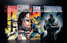 COMICS: Dark Horse: The Terminator: Secondary Objectives #1-4 (1991) - RARE