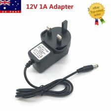 1A AC DC 12V Power Supply Charger Transformer Adapter For LED Strip Ligh+Free DC