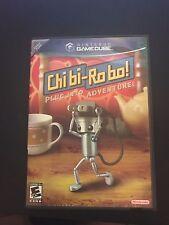 CHIBI-ROBO NINTENDO GAMECUBE NO MANUAL FREE SHIPPING