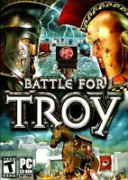 Battle for Troy Pc New Boxed XP Two Massive Armies At Your Command Trojan Horse