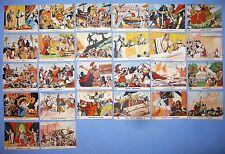 129 Figurine ritagli giornale vittorioso corriere dei piccoli 1950
