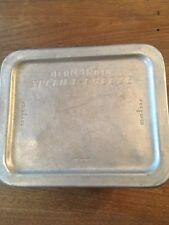 Vintage 1950's Aluminum Bernardin Speed E Freeze Freezer Tin with Lid