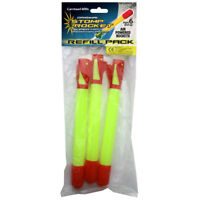 Stomp Rocket Refill Pack (3 Spare Rockets) NEW