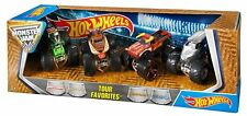 Mattel Hot Wheels Monster Jam 25 Tour Favorites NEW 2017 STYLES MAY VARY 4 Pack