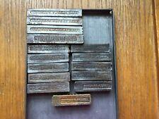 Letterpress Quoins