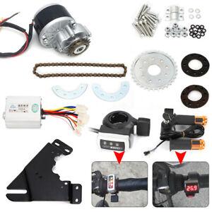 36V 450W Electric Bike Conversion Kit Hub Motor Left Drive + Freewheel