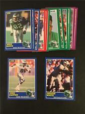 1989 Score Philadelphia Eagles Team Set 16 Cards Cris Carter RC