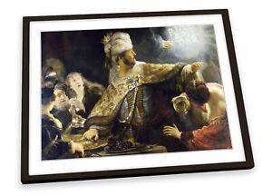 Rembrandt Belshazzar's Feast FRAMED ART PRINT Picture Poster Artwork